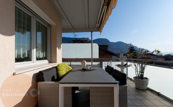 1a Attico con terrazza Merano- outdoor